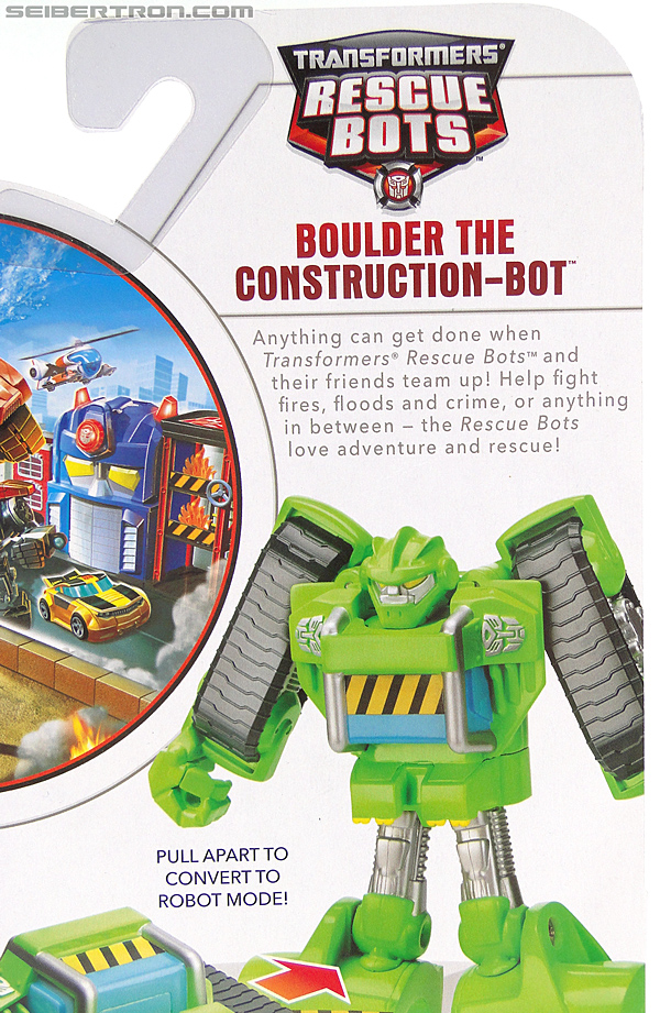 Transformers Rescue Bots Boulder the Construction-Bot (Image #10 of 119)