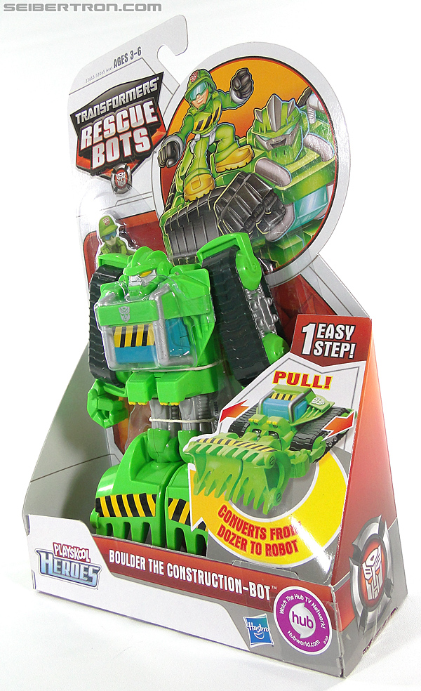 Transformers Rescue Bots Boulder the Construction-Bot (Image #13 of 119)