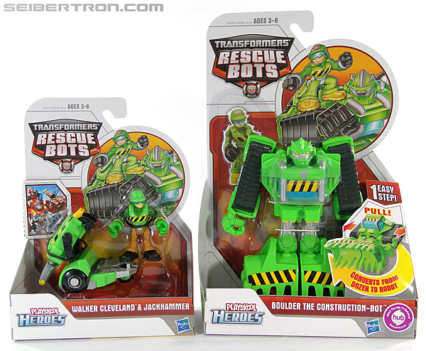 Transformers Rescue Bots Boulder the Construction-Bot (Image #17 of 119)