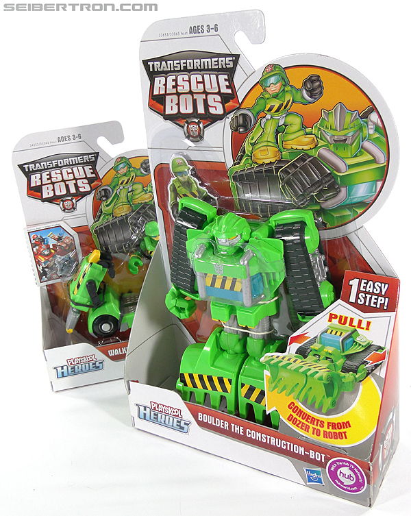 Transformers Rescue Bots Boulder the Construction-Bot (Image #18 of 119)