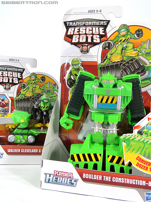 Transformers Rescue Bots Boulder the Construction-Bot (Image #24 of 119)