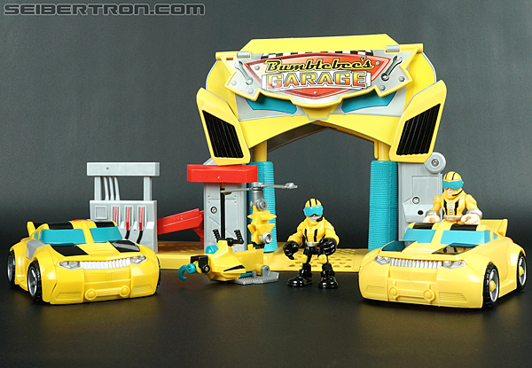Transformers Rescue Bots Bumblebee (Bumblebee Rescue Garage) (Image #65 of 78)