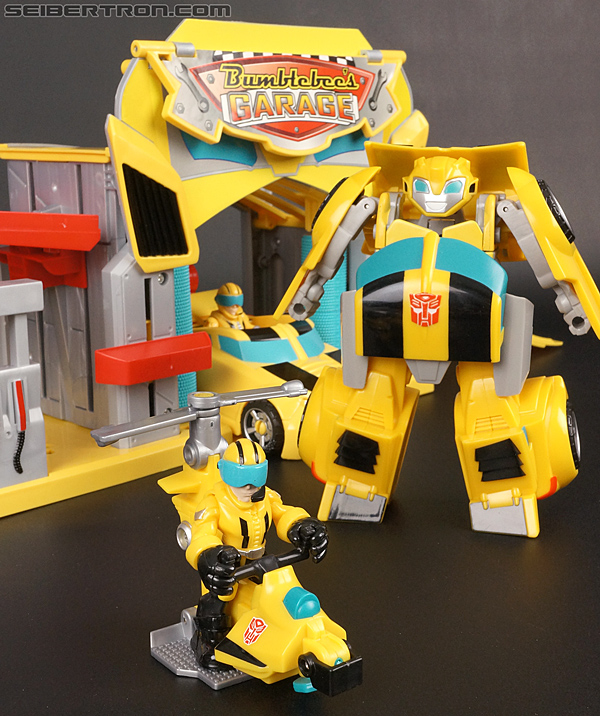 Transformers Rescue Bots Bumblebee (Bumblebee Rescue Garage) (Image #70 of 78)