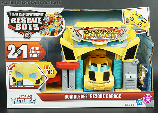 Transformers Rescue Bots Bumblebee Rescue Garage (Image #1 of 80)