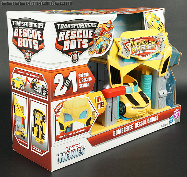 Transformers Rescue Bots Bumblebee Rescue Garage (Image #11 of 80)