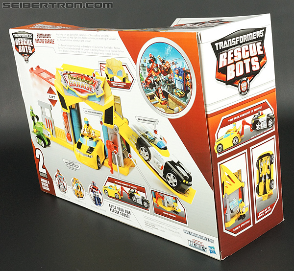 Transformers Rescue Bots Bumblebee Rescue Garage (Image #13 of 80)