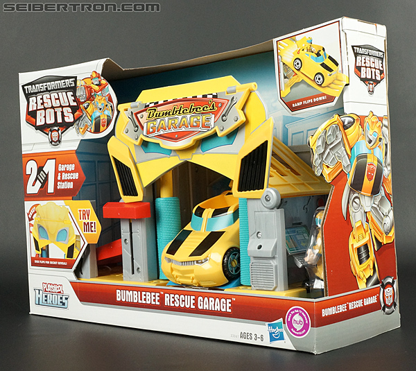 Transformers Rescue Bots Bumblebee Rescue Garage (Image #24 of 80)