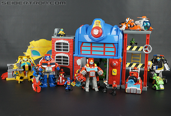 Transformers Rescue Bots Bumblebee Rescue Garage (Image #67 of 80)