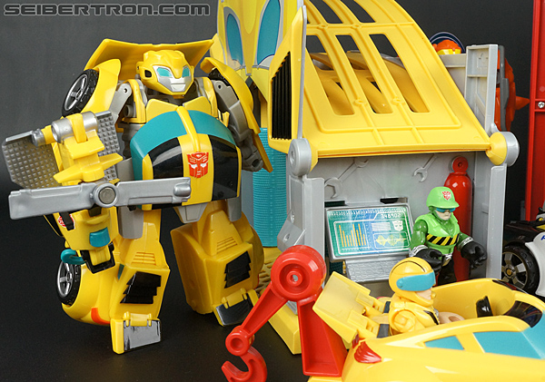 Transformers Rescue Bots Bumblebee Rescue Garage (Image #75 of 80)