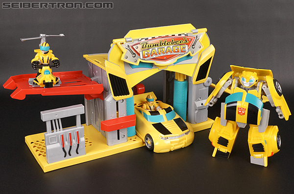 Transformers Rescue Bots Bumblebee Rescue Garage (Image #78 of 80)