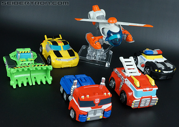 Transformers Rescue Bots Chase the Police-Bot Toy Gallery (Image ...