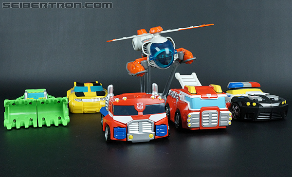 Transformers Rescue Bots Chase the Police-Bot (Image #36 of 97)
