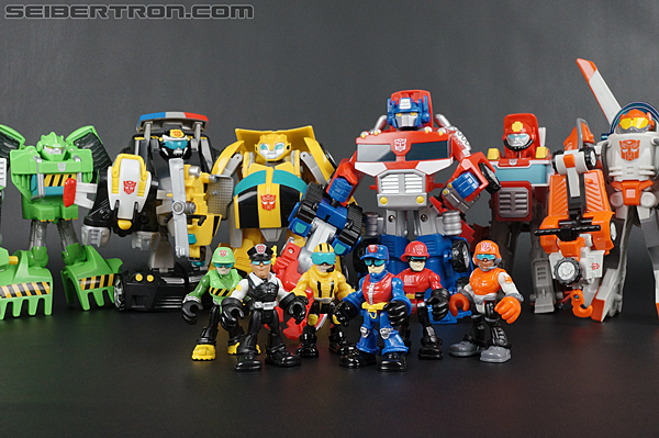 Transformers Rescue Bots Chase the Police-Bot (Image #84 of 97)