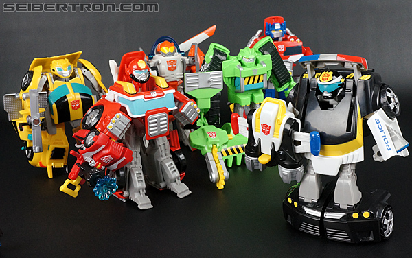 Transformers Rescue Bots Chase the Police-Bot (Image #85 of 97)