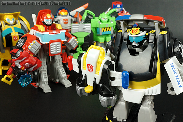 Transformers Rescue Bots Chase the Police-Bot (Image #86 of 97)