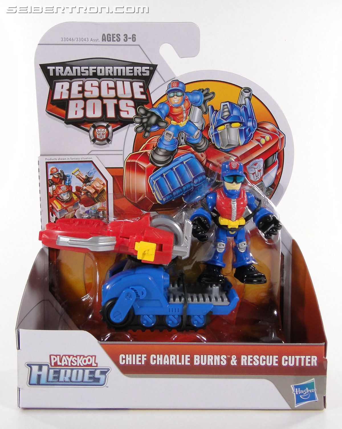 Transformers Rescue Bots Chief Charlie Burns & Rescue Cutter (Image #1 of 79)