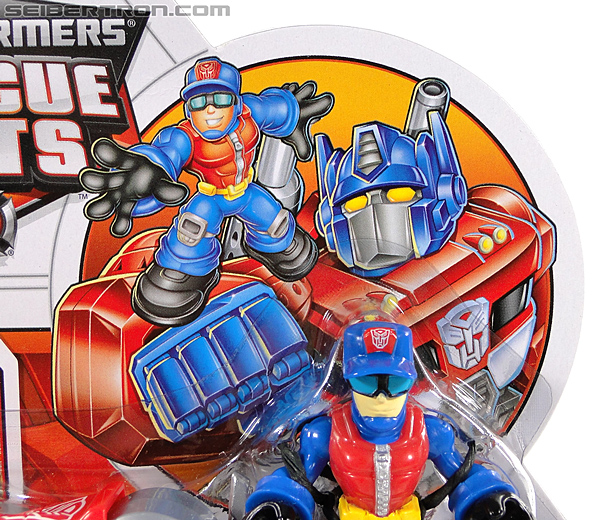 Transformers Rescue Bots Chief Charlie Burns & Rescue Cutter (Image #3 of 79)