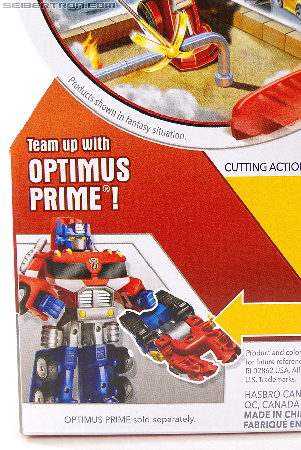 Transformers Rescue Bots Chief Charlie Burns & Rescue Cutter (Image #7 of 79)