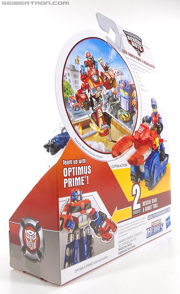 Transformers Rescue Bots Chief Charlie Burns & Rescue Cutter (Image #8 of 79)