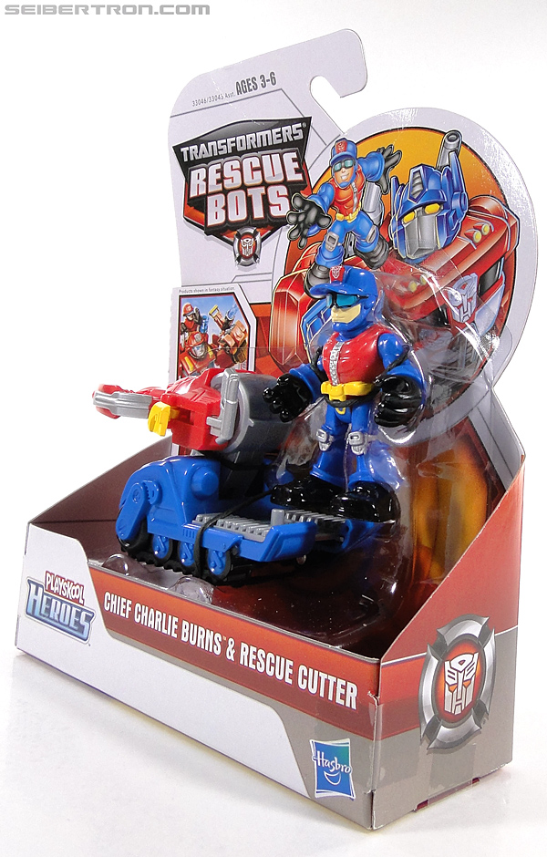 Transformers Rescue Bots Chief Charlie Burns & Rescue Cutter (Image #9 of 79)