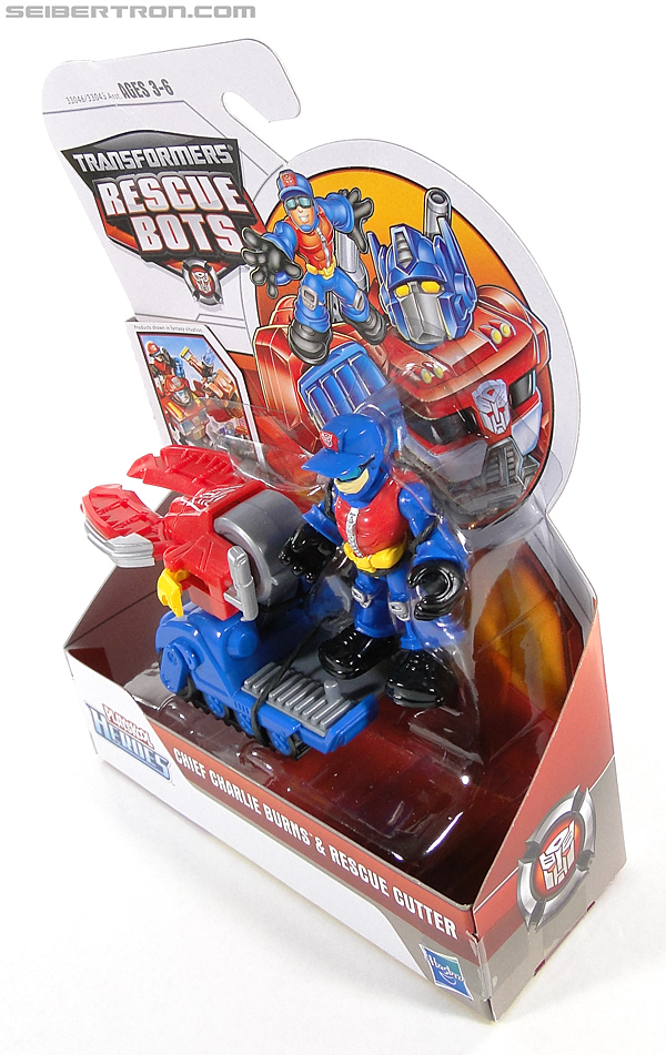 Transformers Rescue Bots Chief Charlie Burns & Rescue Cutter (Image #10 of 79)