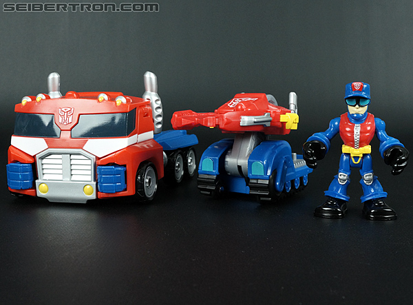 Transformers Rescue Bots Chief Charlie Burns & Rescue Cutter (Image #37 of 79)