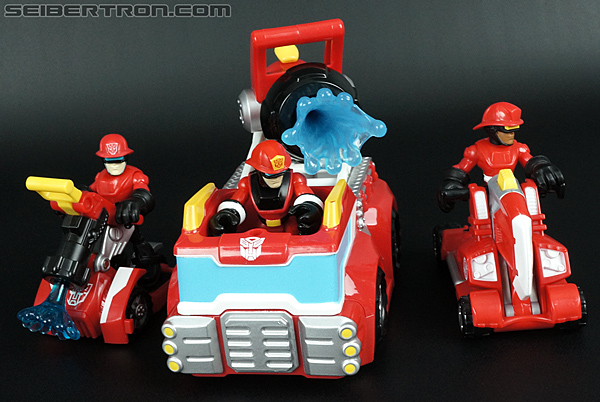 Transformers Rescue Bots Cody Burns (Fire Station Prime) (Image #62 of 66)