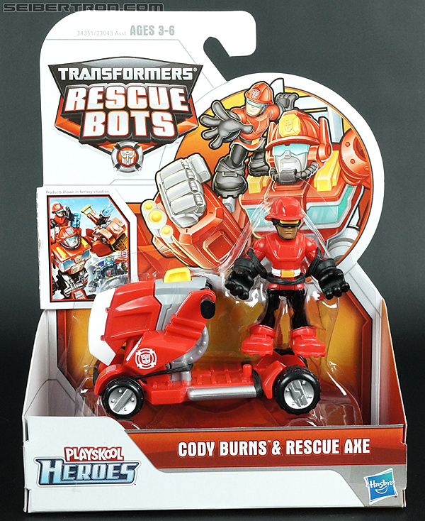 Transformers Rescue Bots Cody Burns & Rescue Axe (Image #1 of 68)