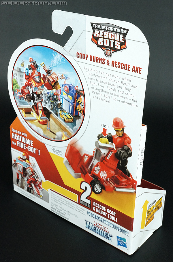 Transformers Rescue Bots Cody Burns & Rescue Axe (Image #5 of 68)