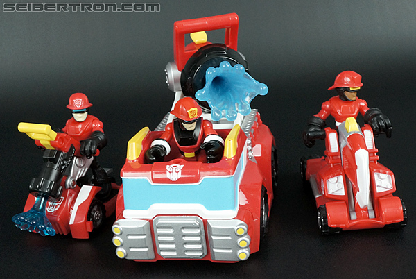 Transformers Rescue Bots Cody Burns & Rescue Axe (Image #55 of 68)