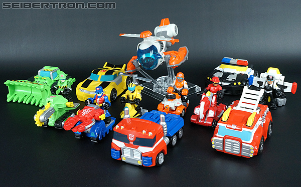 Transformers Rescue Bots Cody Burns & Rescue Axe (Image #57 of 68)