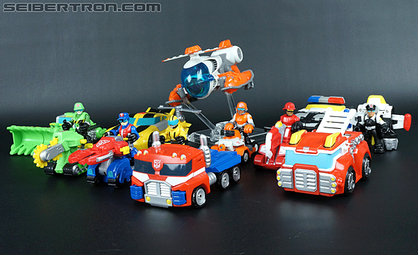 Transformers Rescue Bots Cody Burns & Rescue Axe (Image #58 of 68)