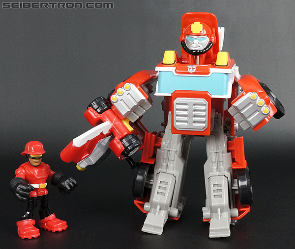 Transformers Rescue Bots Cody Burns & Rescue Axe (Image #61 of 68)