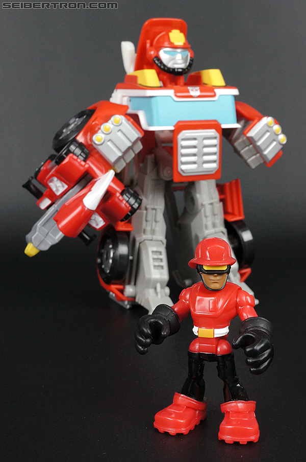 Transformers Rescue Bots Cody Burns & Rescue Axe (Image #62 of 68)