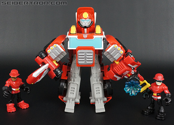Transformers Rescue Bots Cody Burns & Rescue Axe (Image #64 of 68)