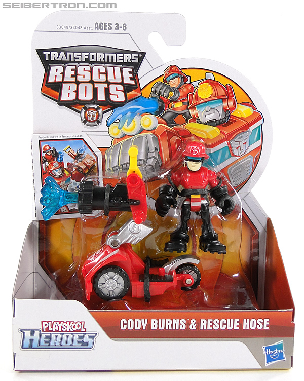 Transformers Rescue Bots Cody Burns & Rescue Hose (Image #1 of 77)