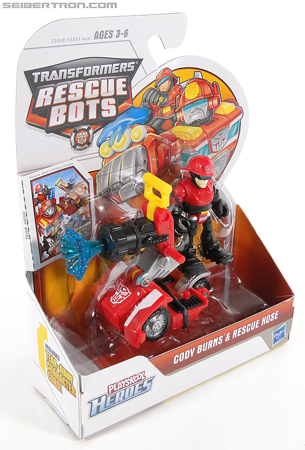 Transformers Rescue Bots Cody Burns & Rescue Hose (Image #4 of 77)