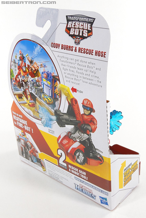 Transformers Rescue Bots Cody Burns & Rescue Hose (Image #5 of 77)