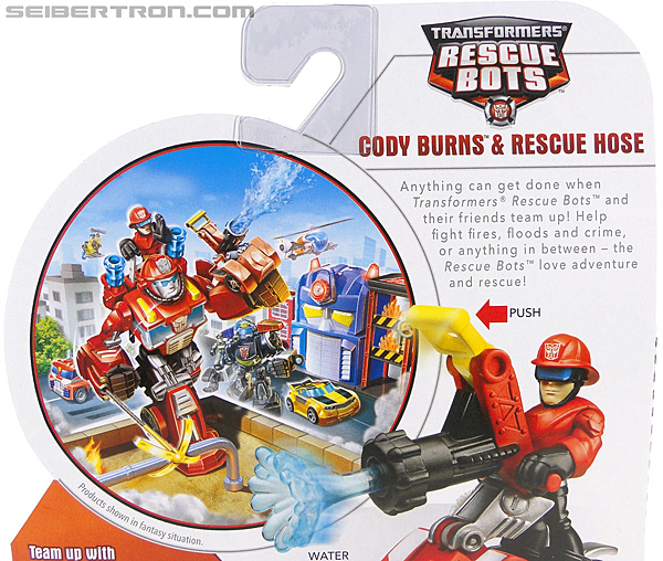 Transformers Rescue Bots Cody Burns & Rescue Hose (Image #9 of 77)