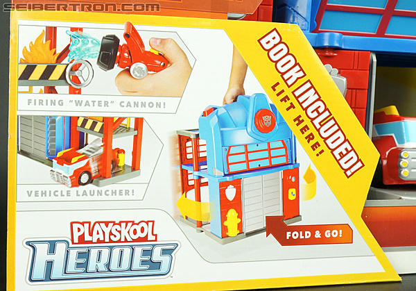 Transformers Rescue Bots Fire Station Prime (Image #3 of 136)