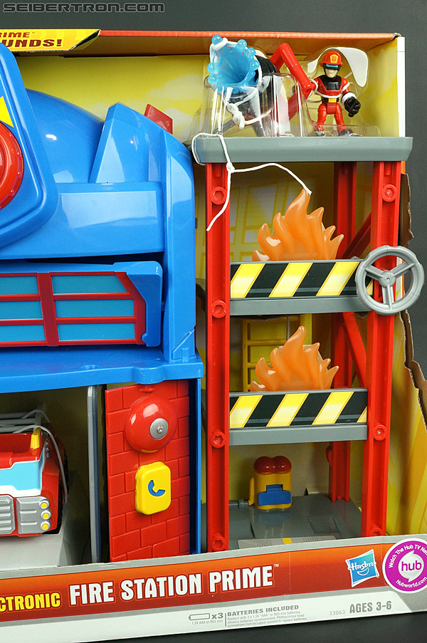 Transformers Rescue Bots Fire Station Prime (Image #8 of 136)