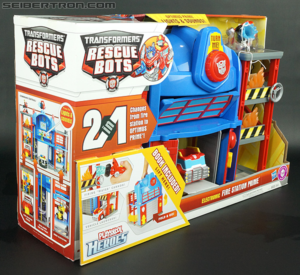 Transformers Rescue Bots Fire Station Prime (Image #10 of 136)
