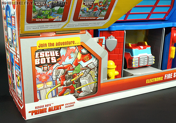 Transformers Rescue Bots Fire Station Prime (Image #11 of 136)