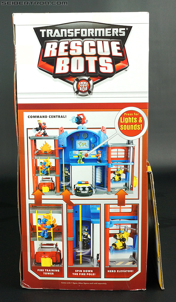 Transformers Rescue Bots Fire Station Prime (Image #12 of 136)