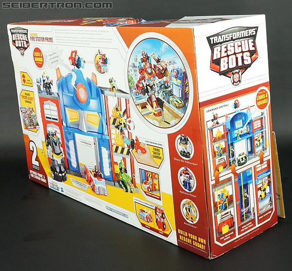 Transformers Rescue Bots Fire Station Prime (Image #13 of 136)