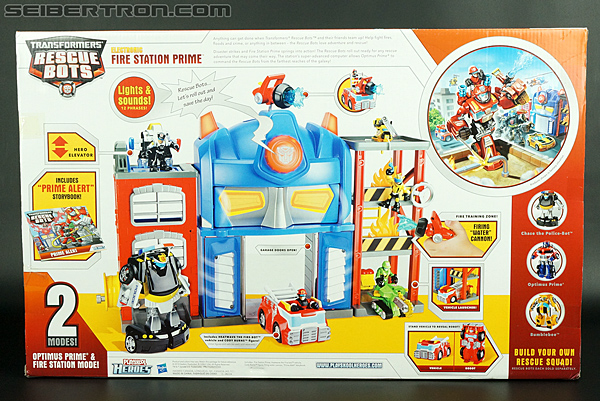 Transformers Rescue Bots Fire Station Prime (Image #14 of 136)