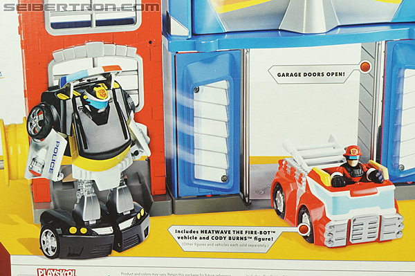 Transformers Rescue Bots Fire Station Prime (Image #16 of 136)
