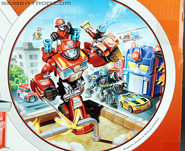 Transformers Rescue Bots Fire Station Prime (Image #19 of 136)