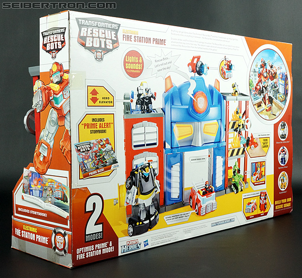 Transformers Rescue Bots Fire Station Prime (Image #21 of 136)