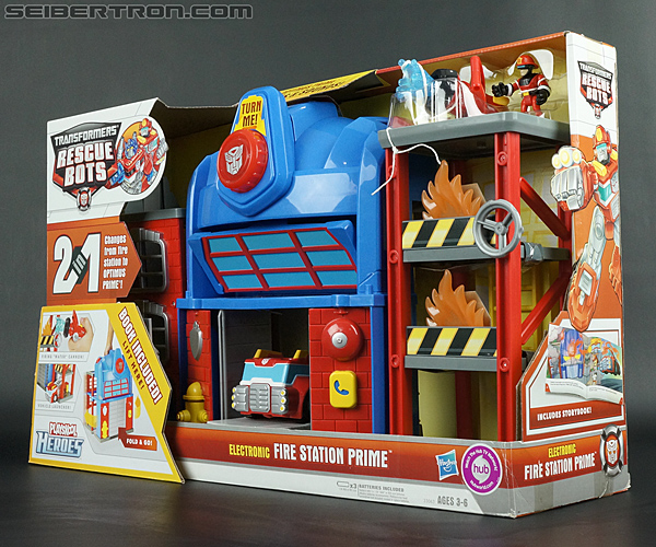 Transformers Rescue Bots Fire Station Prime (Image #23 of 136)